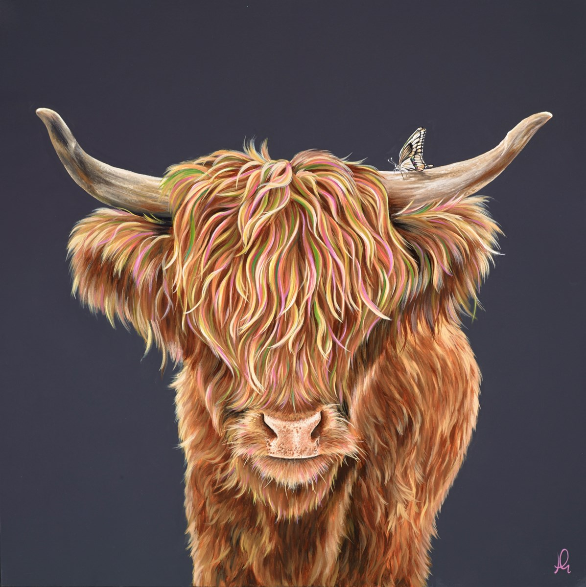 Beauty and the Beast IV by hayley goodhead -  sized 30x30 inches. Available from Whitewall Galleries